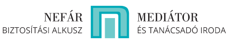 Nefár Mediátor Kft. Logo